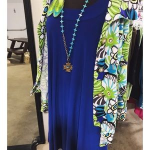 Royal Blue Anne Klein Dress